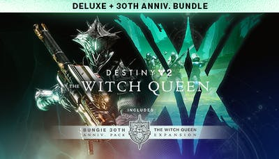 Destiny 2: The Witch Queen Deluxe + Bungie 30th Anniversary Bundle - DLC
