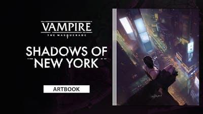 Vampire: The Masquerade – Shadows of New York Deluxe Edition Artbook - DLC