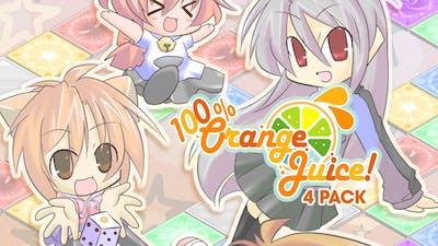 100% Orange Juice 4-Pack