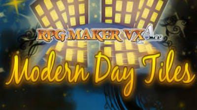 RPG Maker VX Ace: Modern Day Tiles Resource Pack DLC