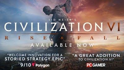 Sid Meier's Civilization VI: Rise and Fall DLC | Linux Mac