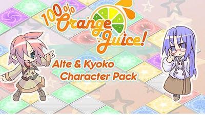 100% Orange Juice - Alte & Kyoko Character Pack - DLC