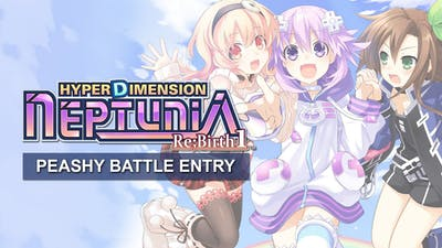 Hyperdimension Neptunia Re;Birth1 Peashy Battle Entry DLC