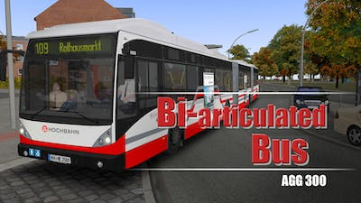 OMSI 2 Add-On Doppelgelenkbus AGG 300 - DLC