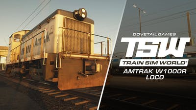 Train Sim World: Amtrak SW1000R Loco Add-On