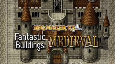 RPG Maker: Fantastic Buildings - Medieval DLC | PC Steam