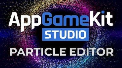 AppGameKit Studio - Particle Editor - DLC