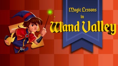 Magic Lessons in Wand Valley - a jigsaw puzzle tale