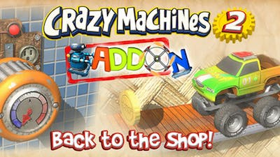 Crazy Machines 2: Back to the Shop Add-On - DLC