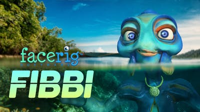 FaceRig Fibbi the Sea Creature Avatar - DLC