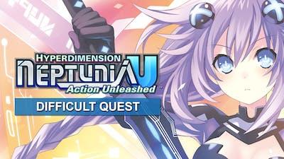 Hyperdimension Neptunia U Difficult Quest DLC