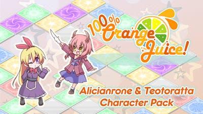 100% Orange Juice - Alicianrone & Teotoratta Character Pack