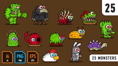 25 Monsters