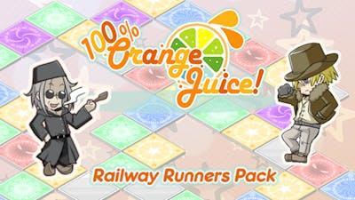 100% Orange Juice - Railway Runners Pack