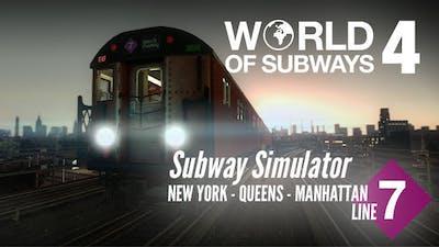 World Of Subways 4 New York Line 7 Pc Steam Game Fanatical