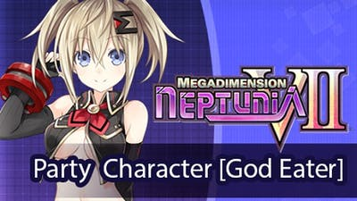 Megadimension Neptunia VII Party Character [God Eater] DLC