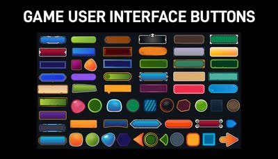 Game User Interface Buttons