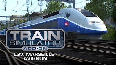 Train Simulator: LGV: Marseille - Avignon Route Add-On - DLC