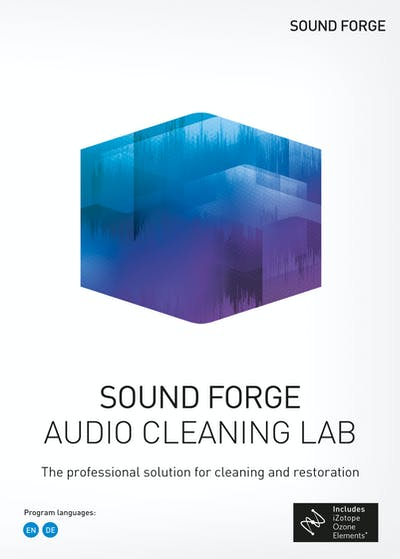 Sound Forge Audio Cleaning Lab 1