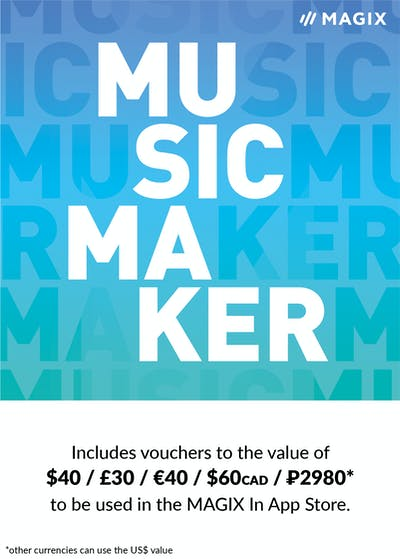 Music Maker (Latest Edition) Incl 2 Coupons