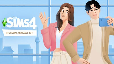 The Sims 4 Incheon Arrivals Kit - DLC