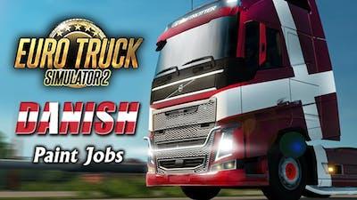 Euro Truck Simulator 2 - Danish Paint Jobs Pack DLC
