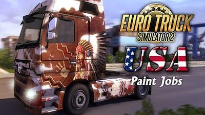 Euro Truck Simulator 2 - USA Paint Jobs Pack DLC