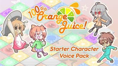 100% Orange Juice - Starter Character Voice Pack