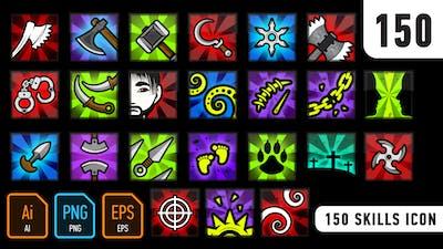 150 Skills Icon
