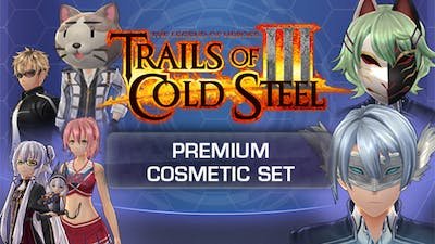 The Legend of Heroes: Trails of Cold Steel III - Premium Cosmetic Set