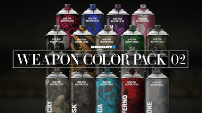 PAYDAY 2: Weapon Color Pack 2