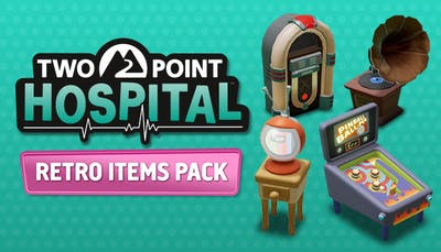 Two Point Hospital  - Retro Items pack