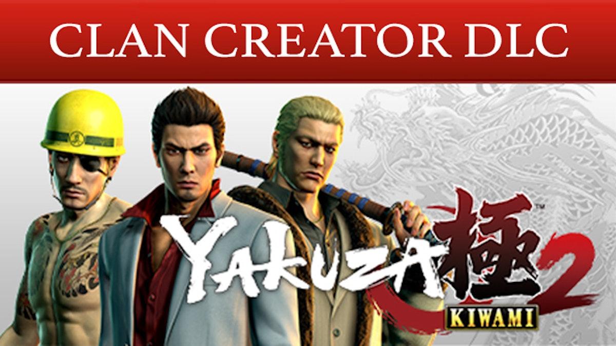 Yakuza Kiwami 2 - Clan Creator Bundle | PC Steam Downloadable