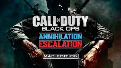 Call of Duty: Black Ops Annihilation & Escalation Bundle – Mac Edition - DLC