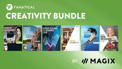 Fanatical Creativity Bundle by MAGIX