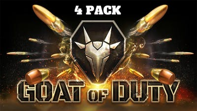 Goat of Duty 4-Pack