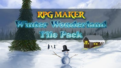 RPG Maker VX Ace: Winter Wonderland Tiles
