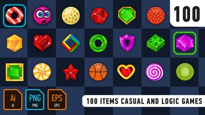 100 Items Casual And Logic Games
