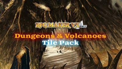 RPG Maker VX Ace: Dungeons and Volcanoes Tile Pack DLC
