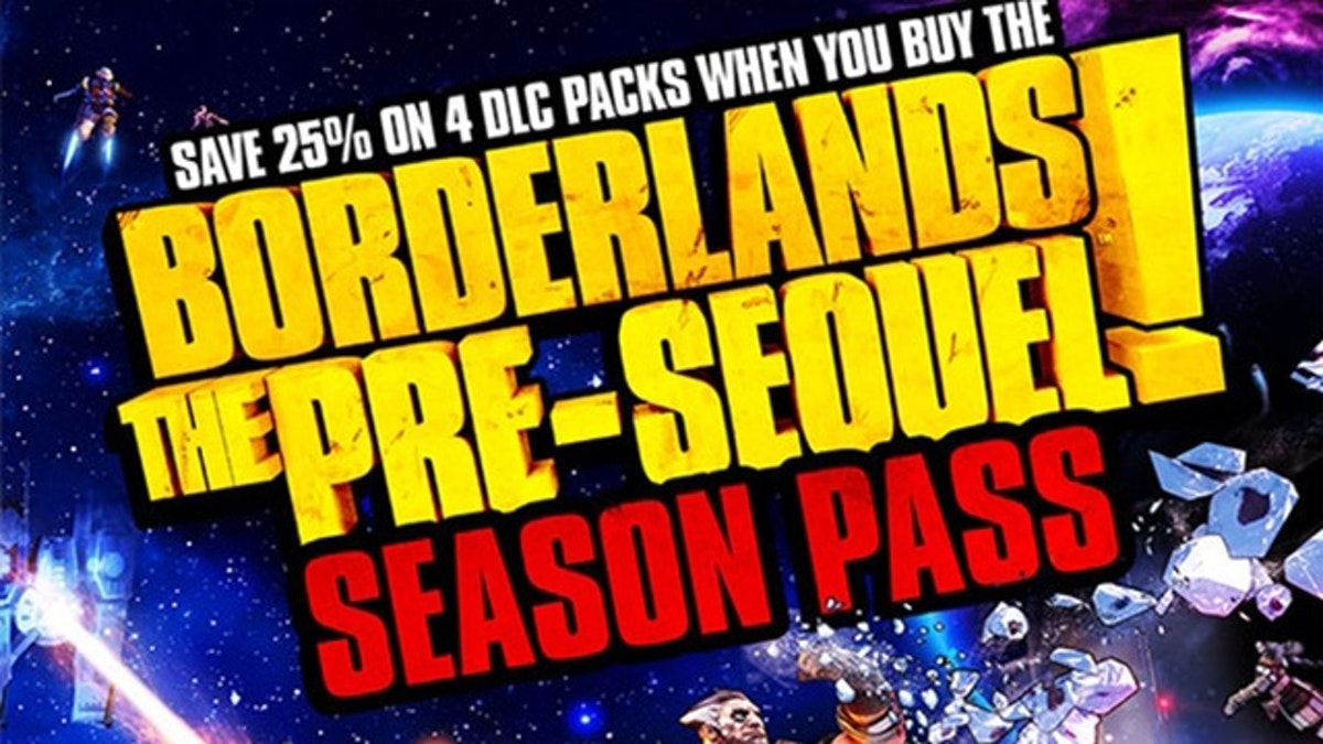 Borderlands: The Pre-Sequel Season Pass DLC | PC Steam