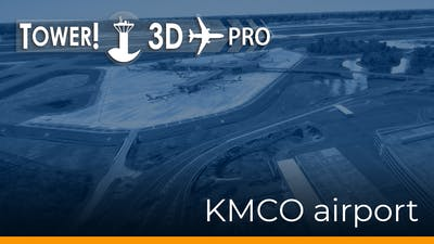 Tower!3D Pro - KMCO airport