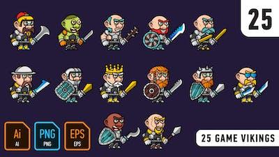 25 Game Vikings