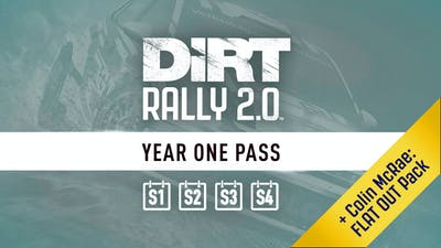 DiRT Rally 2.0 - Year One Pass (S1-4) + Colin McRae FLAT OUT PACK - DLC