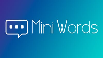 Mini Words - minimalist puzzle