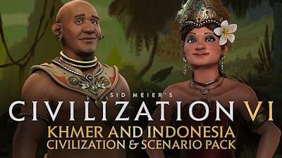 Civilization VI - Khmer and Indonesia Civilization & Scenario Pack DLC