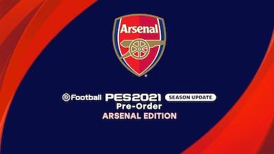eFootball PES 2021 SEASON UPDATE ARSENAL EDITION