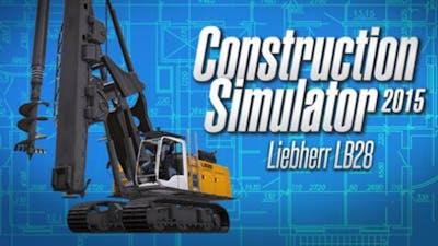 Construction Simulator 2015: Liebherr LB 28 DLC
