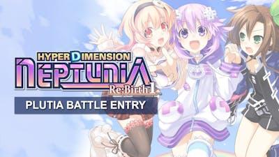 Hyperdimension Neptunia Re;Birth1 Plutia Battle Entry DLC