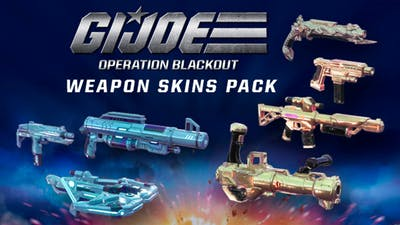G.I. Joe: Operation Blackout - G.I. Joe and Cobra Weapons Pack