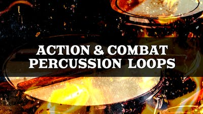 Action & Combat Percussion Loops